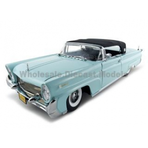 1958 Lincoln Continental Mark 3 Platinum 1/18 Diecast Car Model by Sunstar